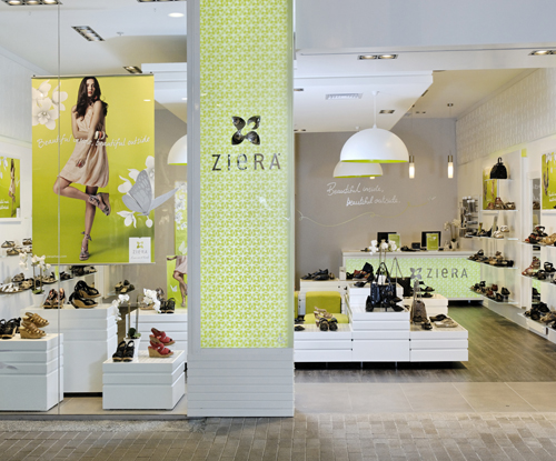 Ziera Shoes Retail Stores