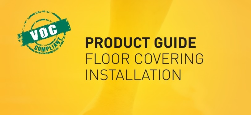 Product Guide Floor Covering Installation